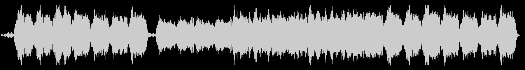 ストリングスの優雅な重和声の未再生の波形