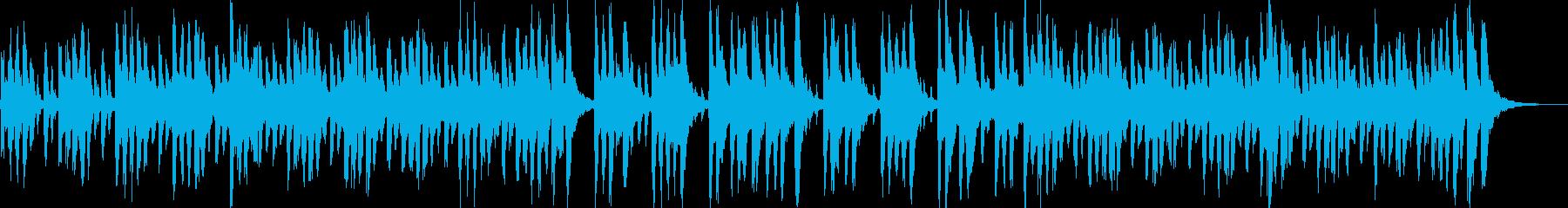 ほのぼの雰囲気のかわいらしいポップBGMの再生済みの波形