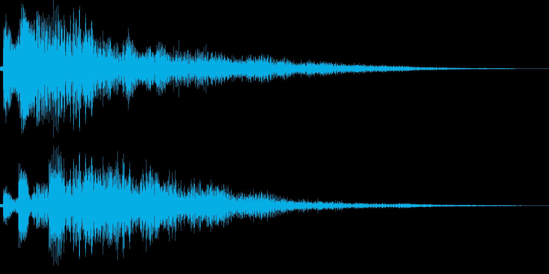 シャララーン(下がる、タイトル、ME)の再生済みの波形