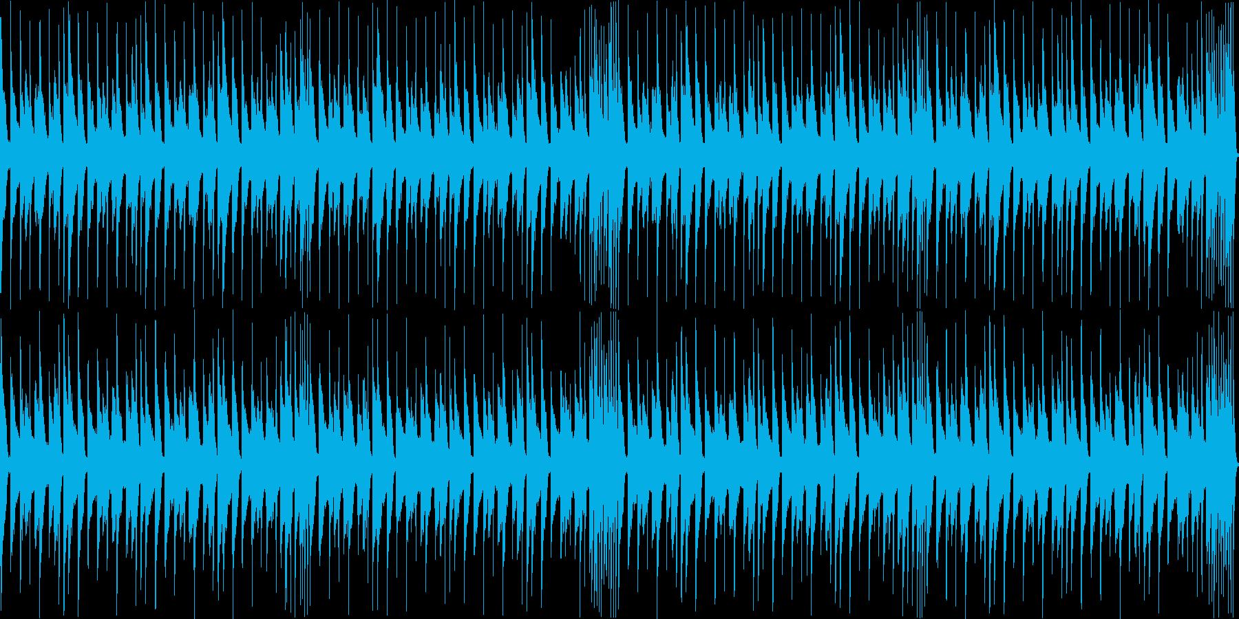 日常系 コミカルなピアノ曲の再生済みの波形