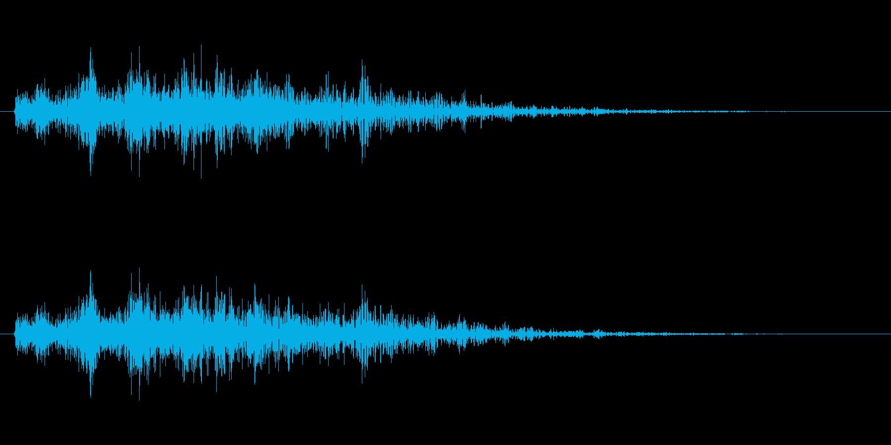 モンスター・海洋生物の触手/引き上げるの再生済みの波形