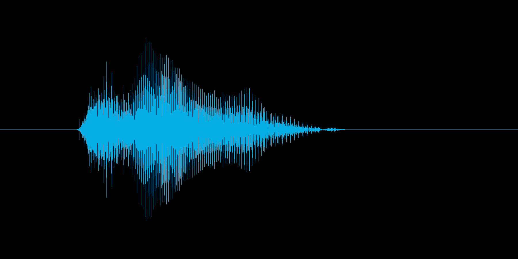 10(じゅう)の再生済みの波形