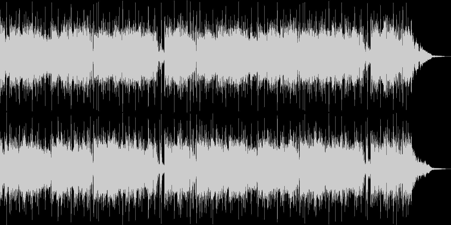 ピアノを主体としたヒップホップの未再生の波形