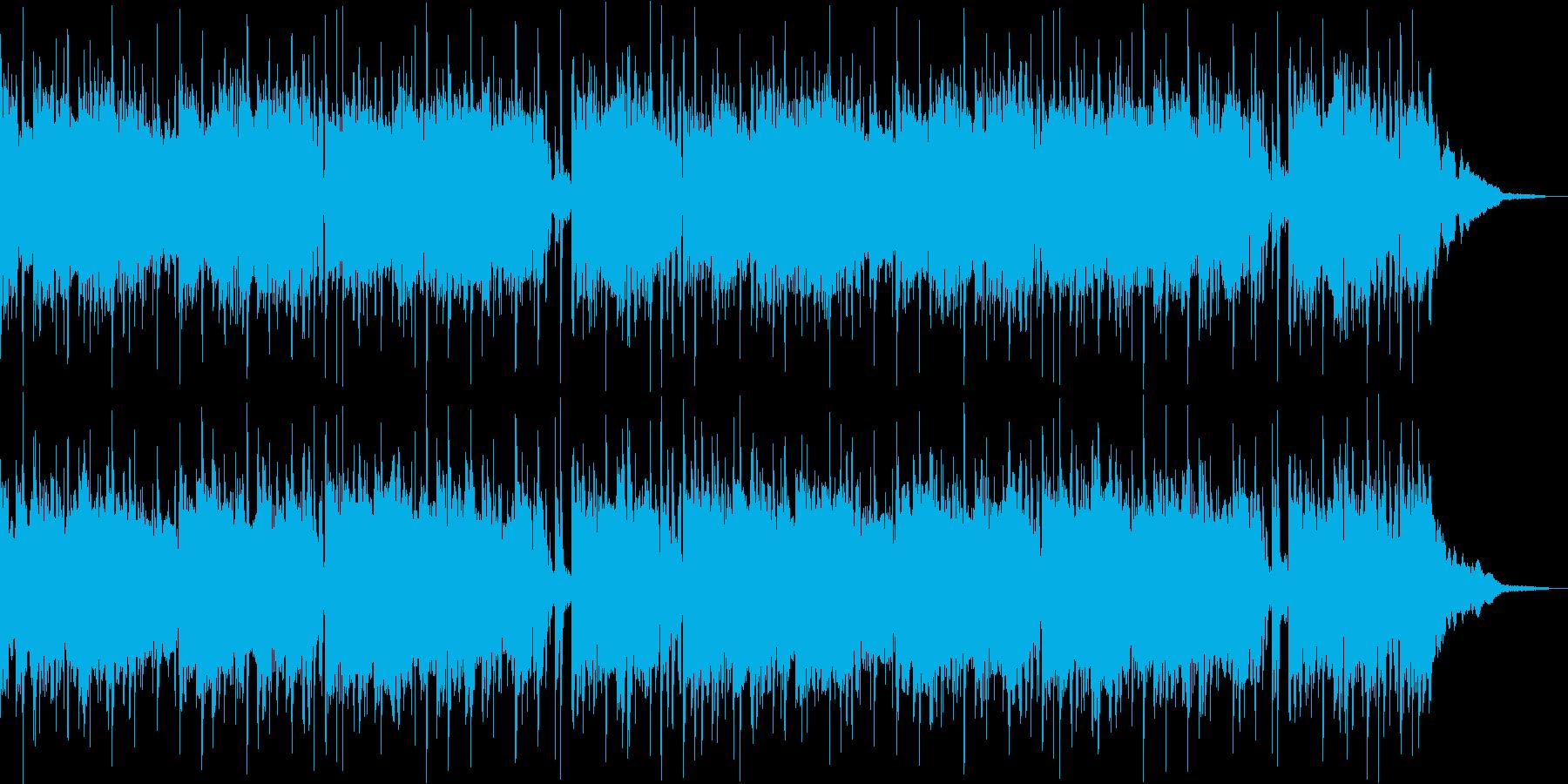 ピアノを主体としたヒップホップの再生済みの波形