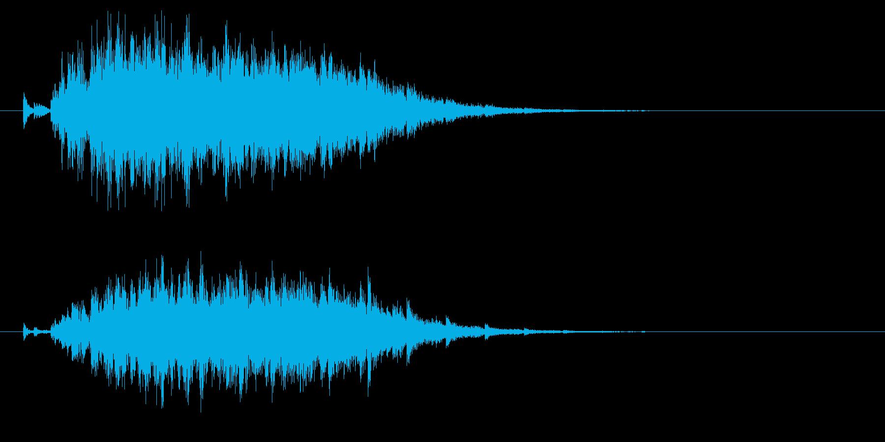 Bellチャイム_魔法効果_場面展開の再生済みの波形