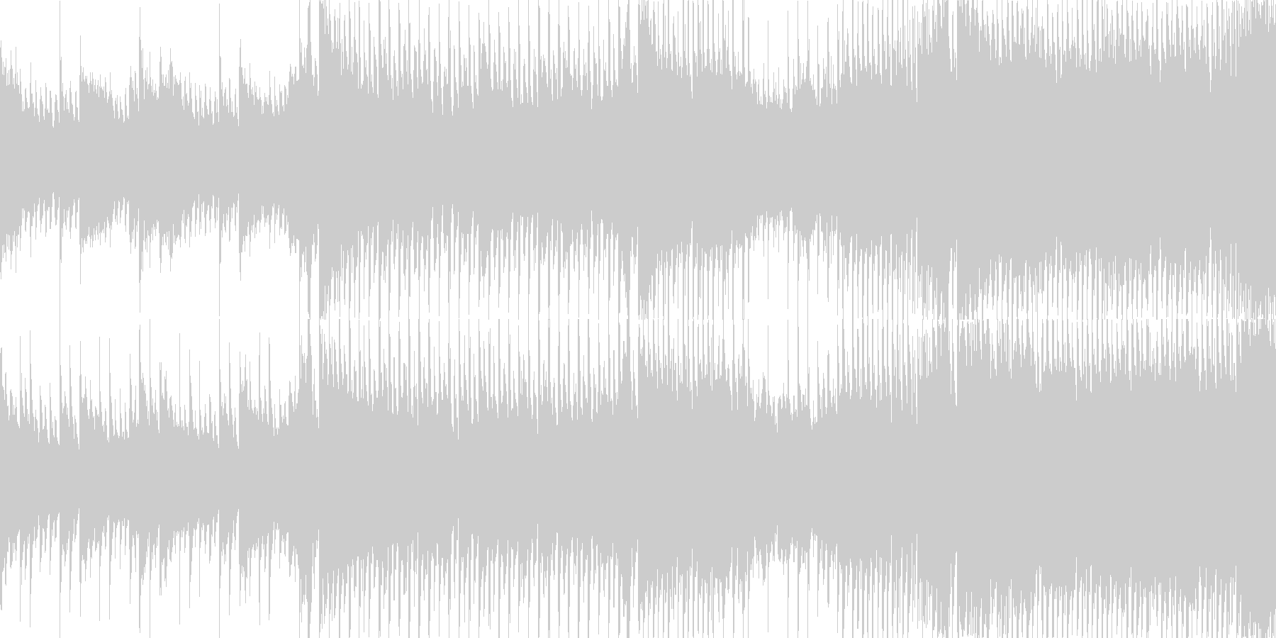前向きで爽やかなポップス【ループBGM】の未再生の波形