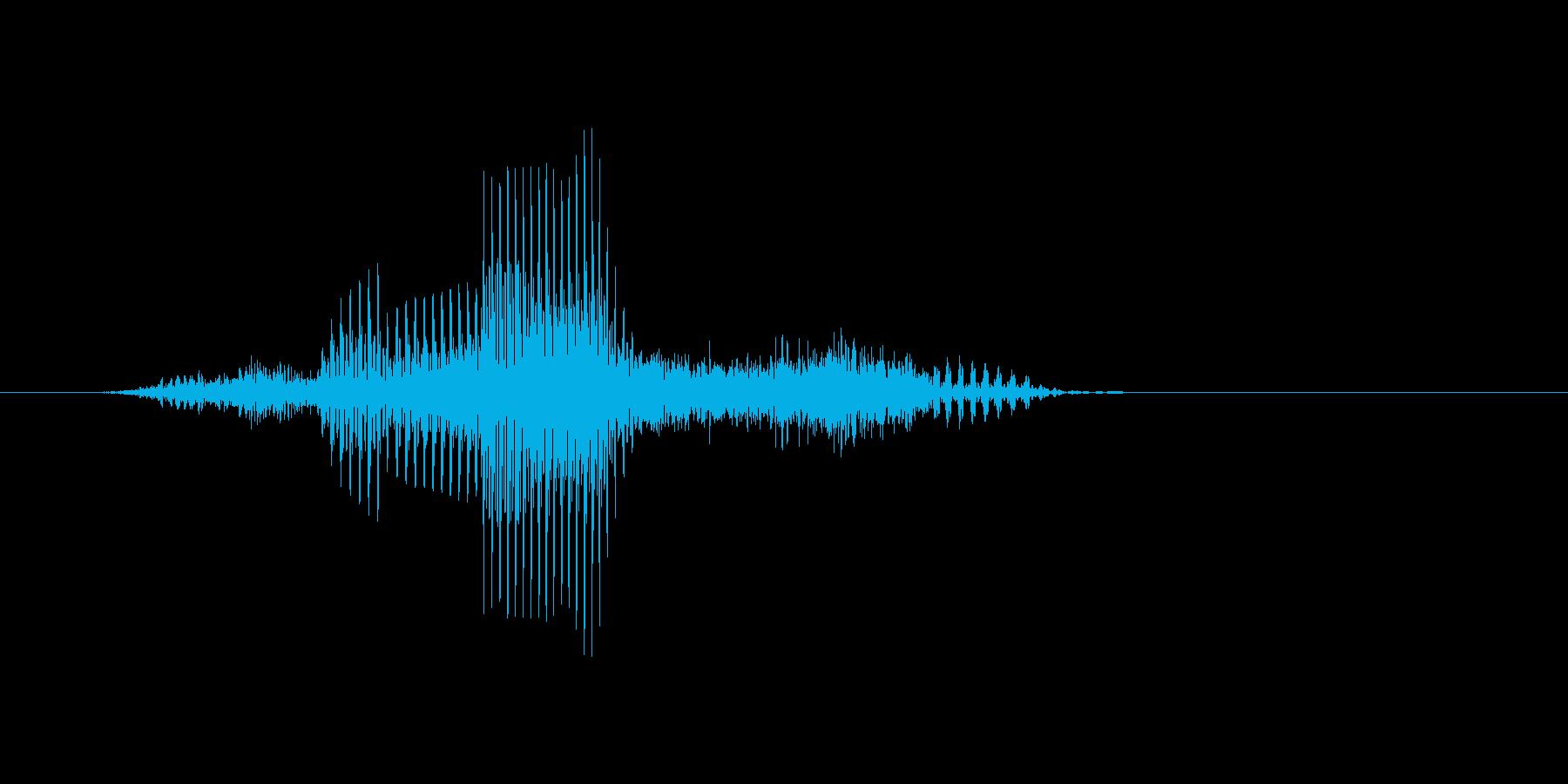スマッシュの再生済みの波形