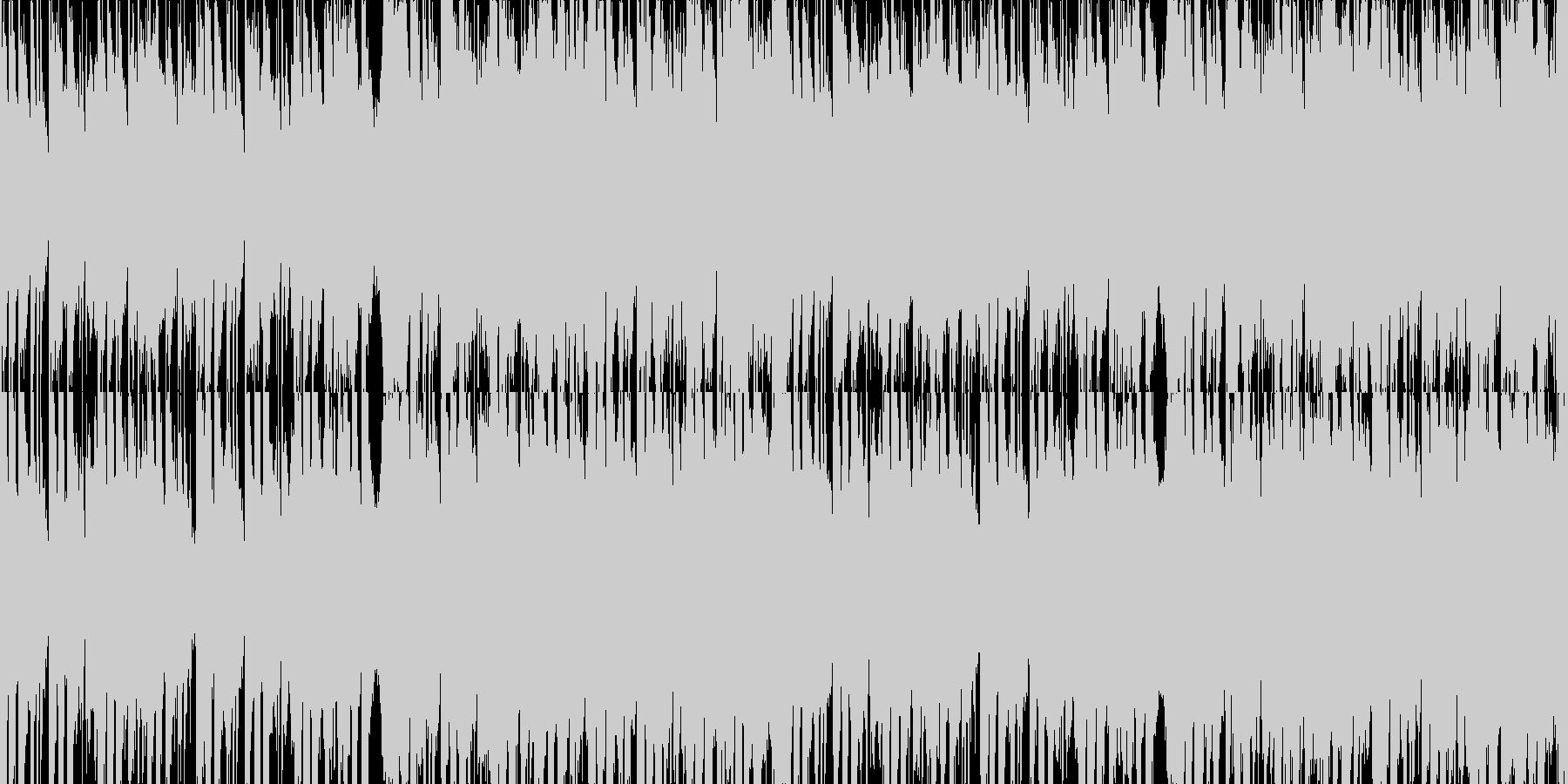 勇者を連想させるオーケストラBGMの未再生の波形