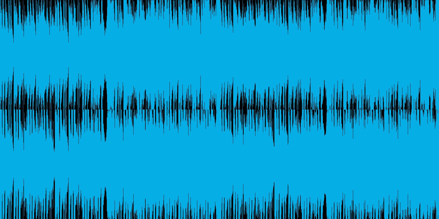 勇者を連想させるオーケストラBGMの再生済みの波形
