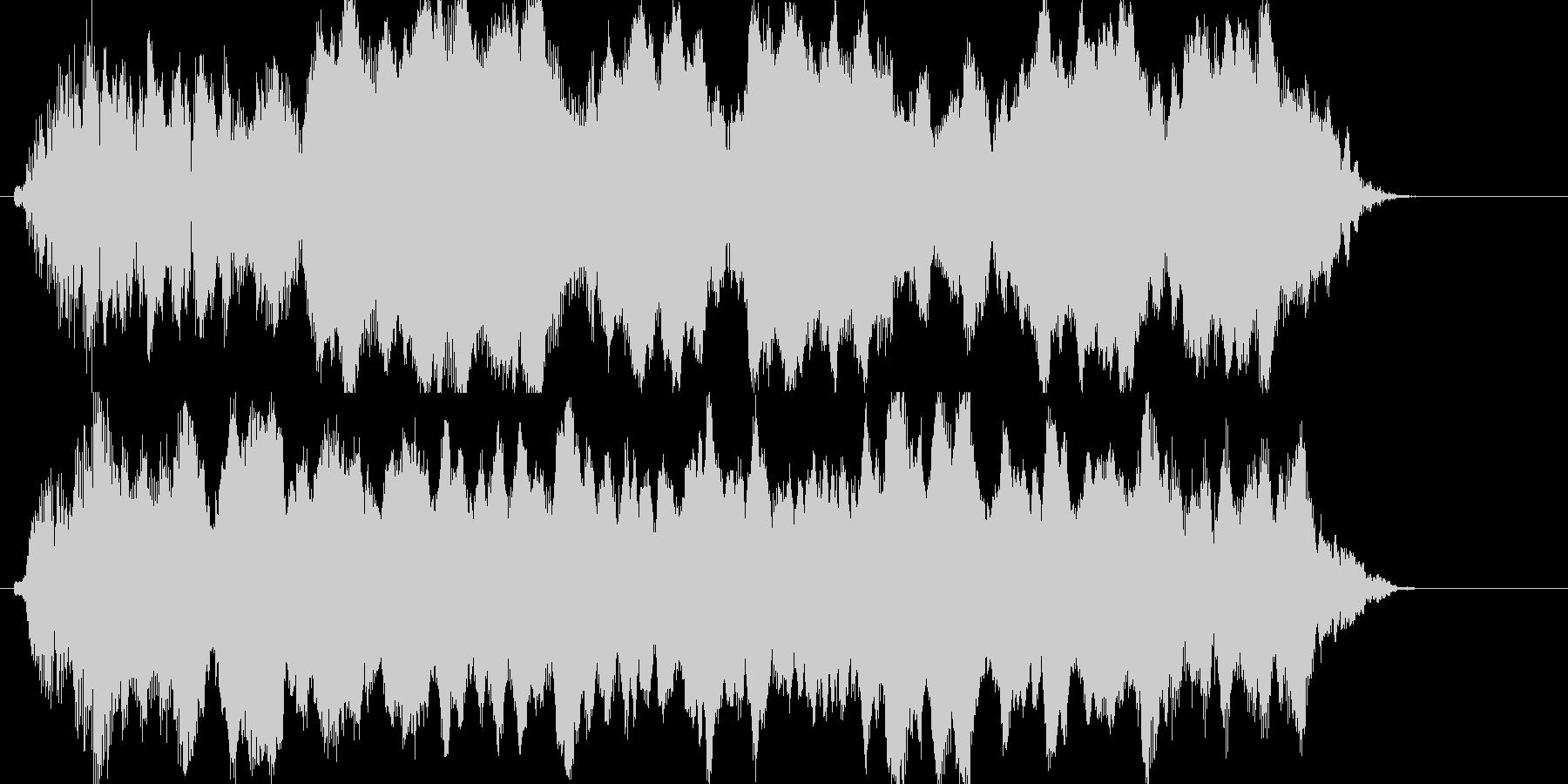 汽笛の音圧CD規格ですの未再生の波形