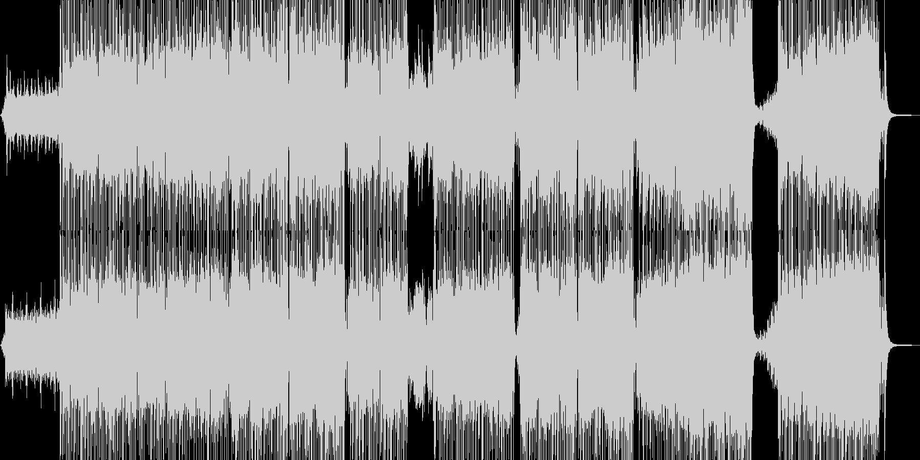 キュートなおとぎ話のようなポップスの未再生の波形