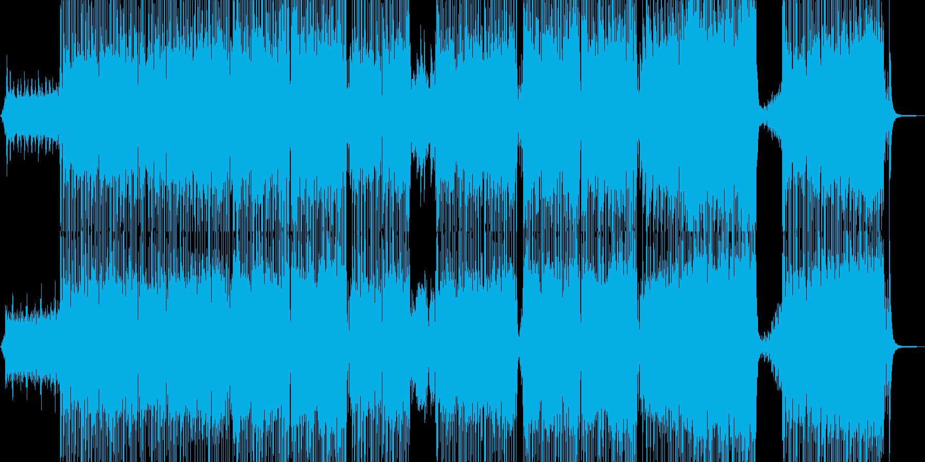 キュートなおとぎ話のようなポップスの再生済みの波形
