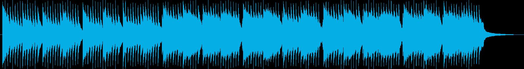 琴、尺八、日本らしい切ない和風曲の再生済みの波形