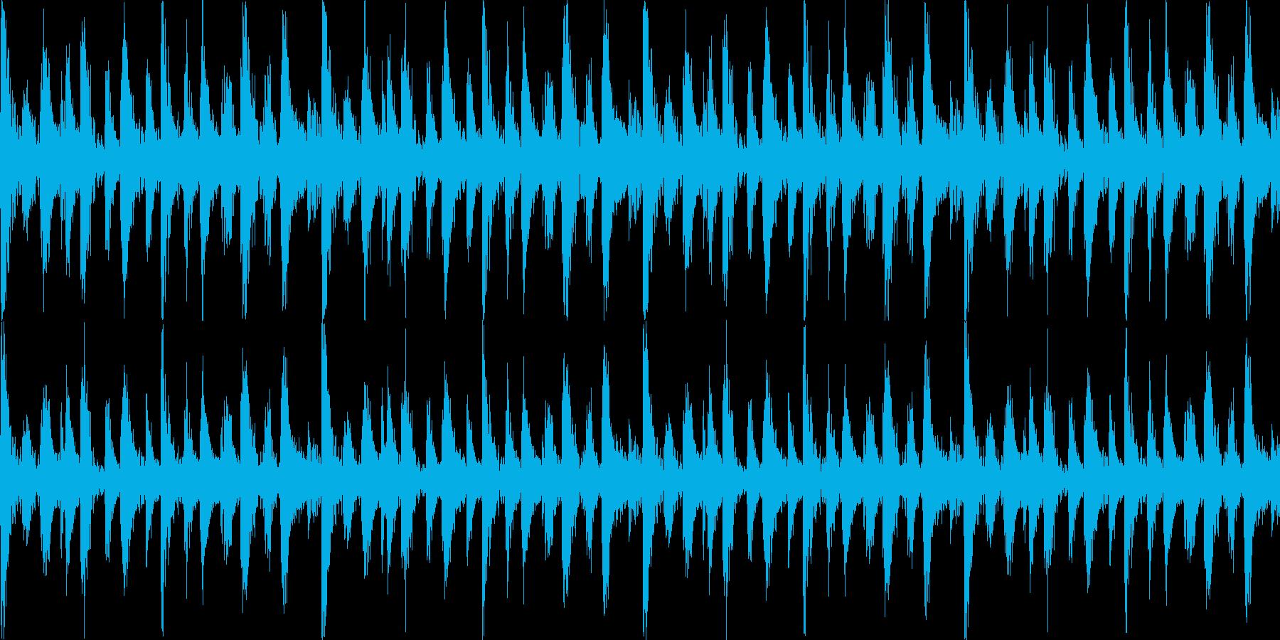 民族ジャングルBGM_LOOPの再生済みの波形