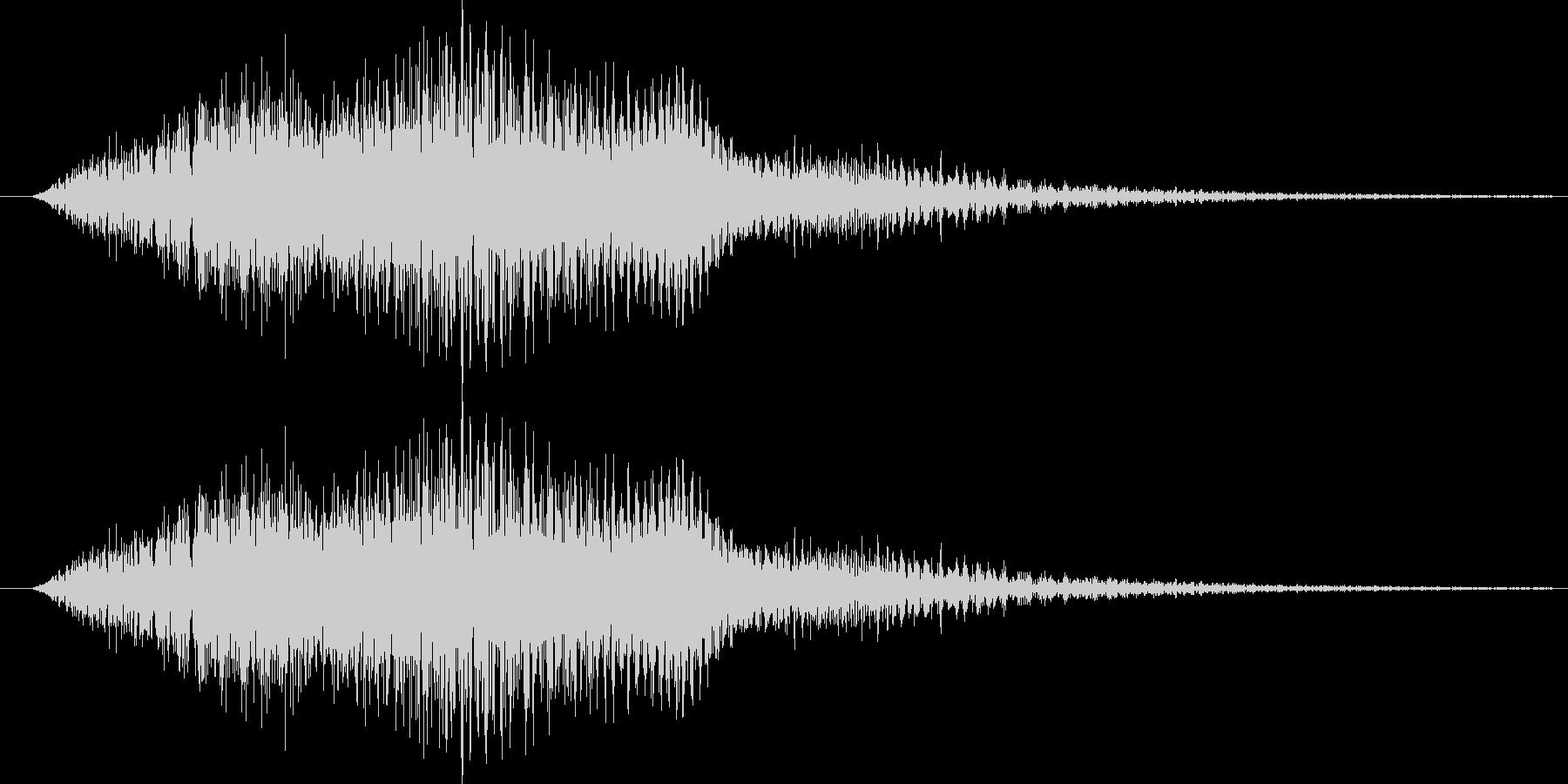 サウンドロゴ18の未再生の波形