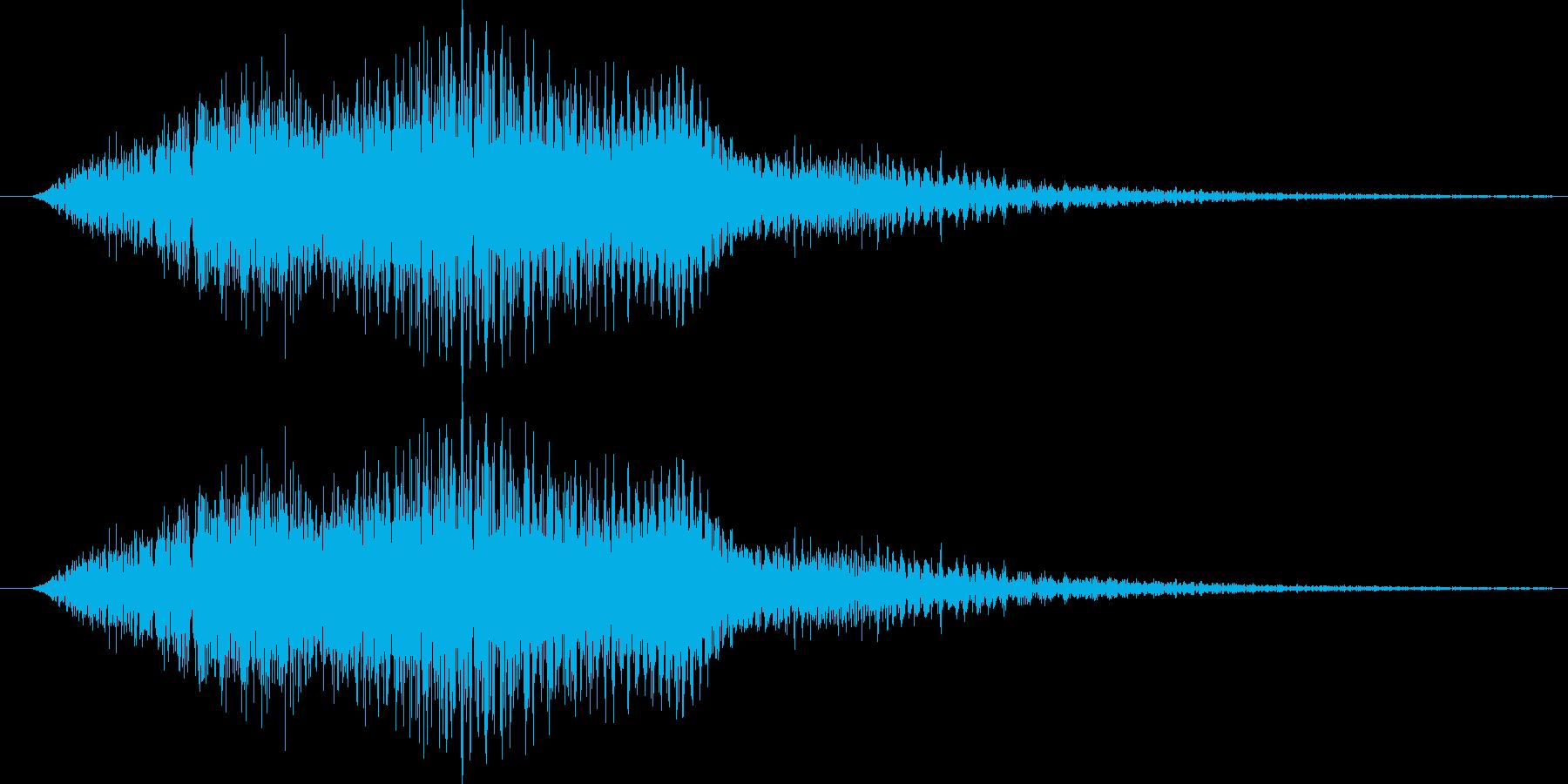 サウンドロゴ18の再生済みの波形
