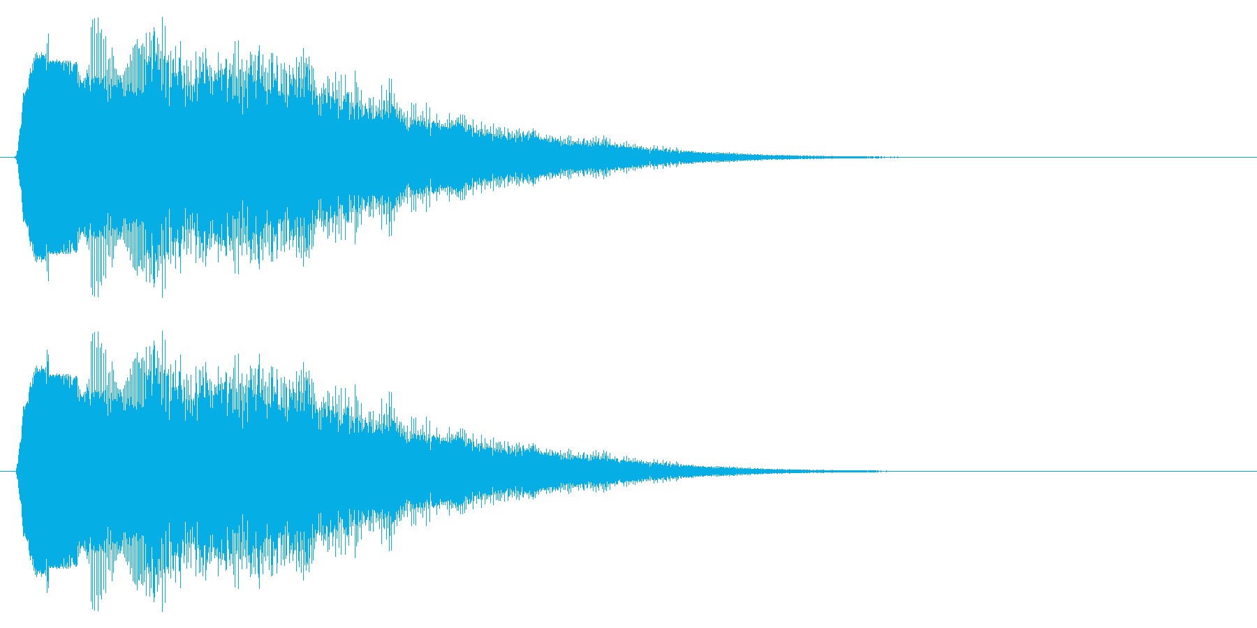 キラキラ/決定音/回復/獲得の再生済みの波形