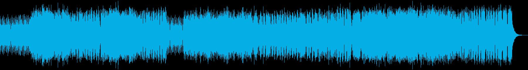 スピード感 躍動的サックスジャズビートの再生済みの波形