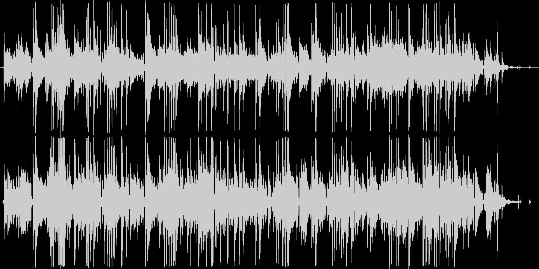 ギターデュオによる爽やかなアンサンブルの未再生の波形
