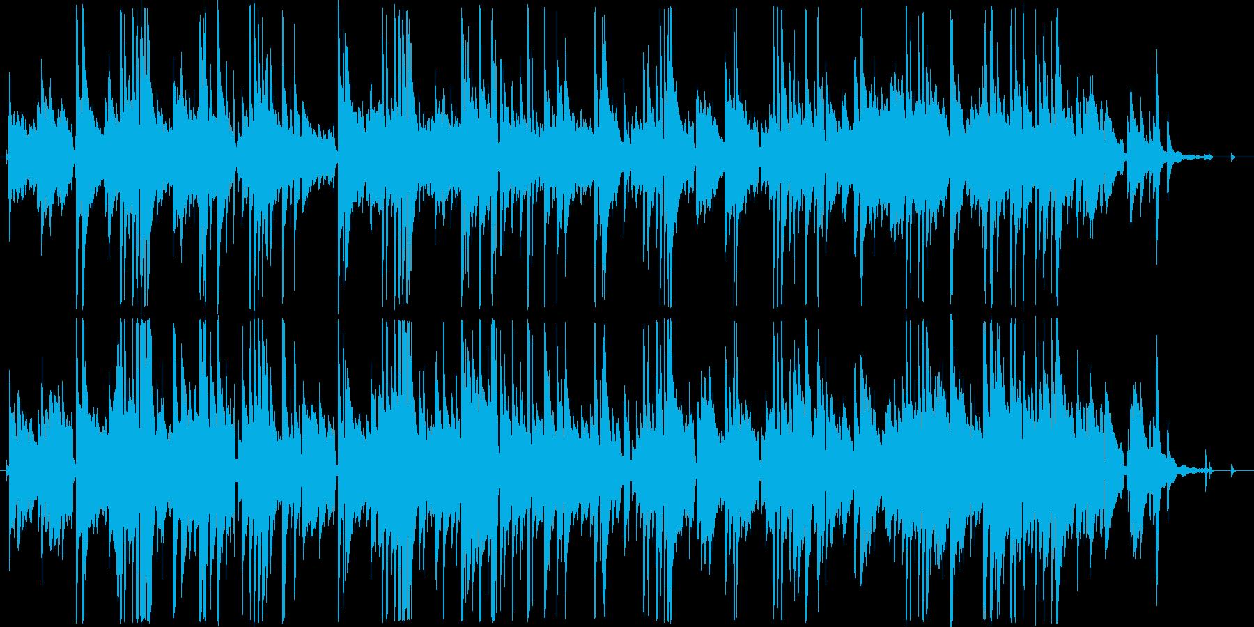 ギターデュオによる爽やかなアンサンブルの再生済みの波形