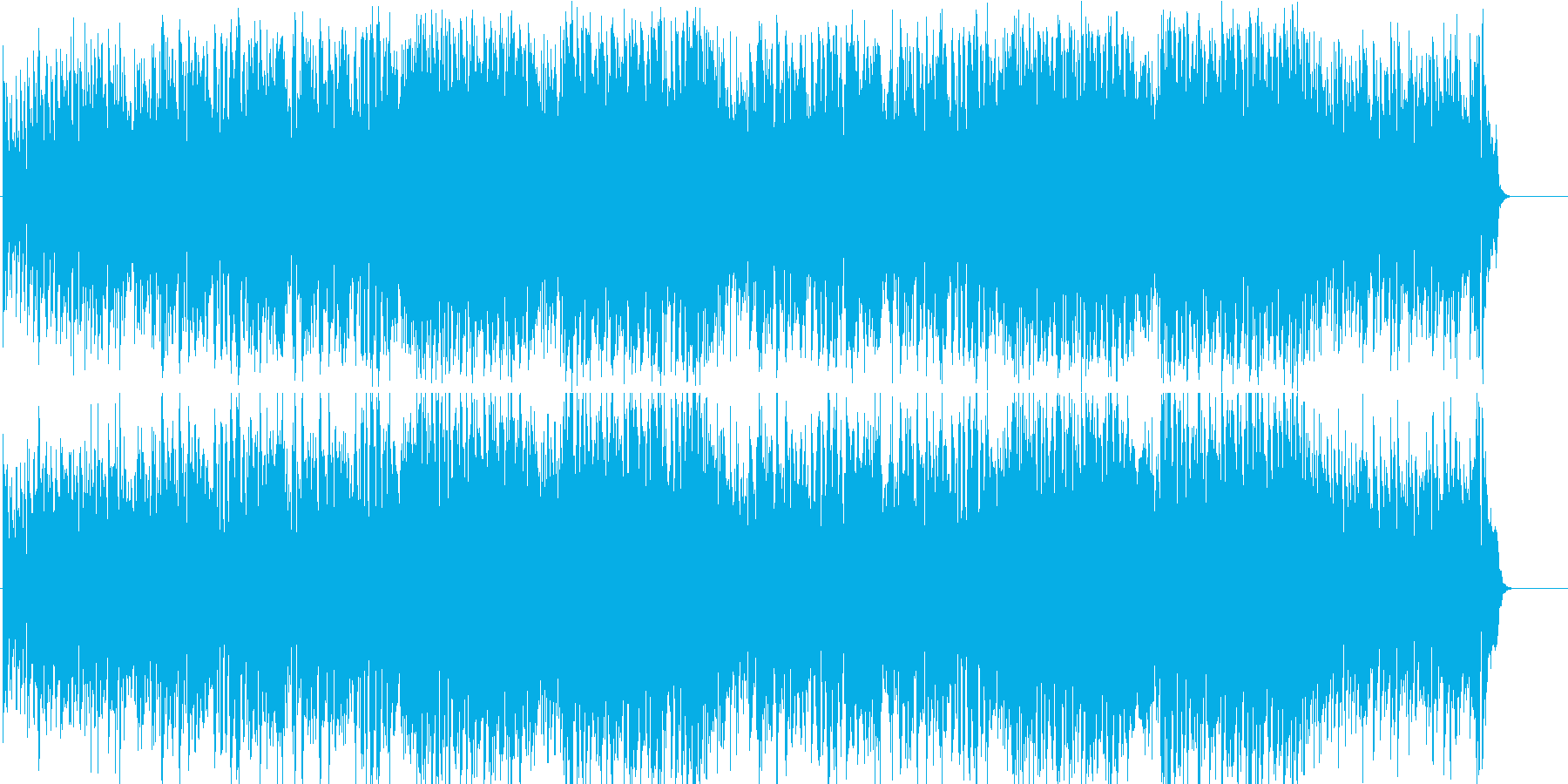 オープニング テーマ 希望 いきいきの再生済みの波形