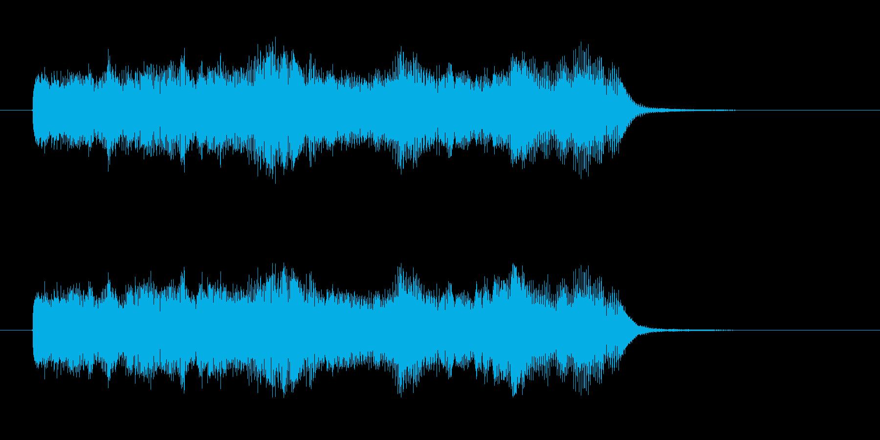 煌びやかでメルヘンポップなジングルの再生済みの波形