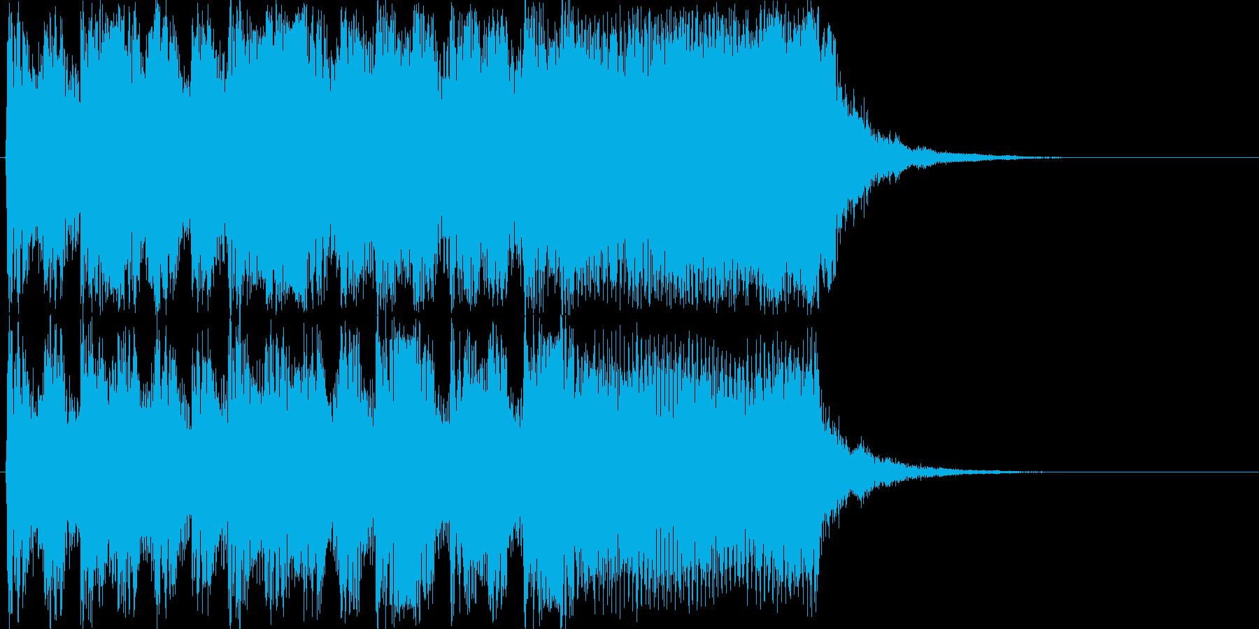 アニメ・ポップ・ポジティブ・クリアの再生済みの波形