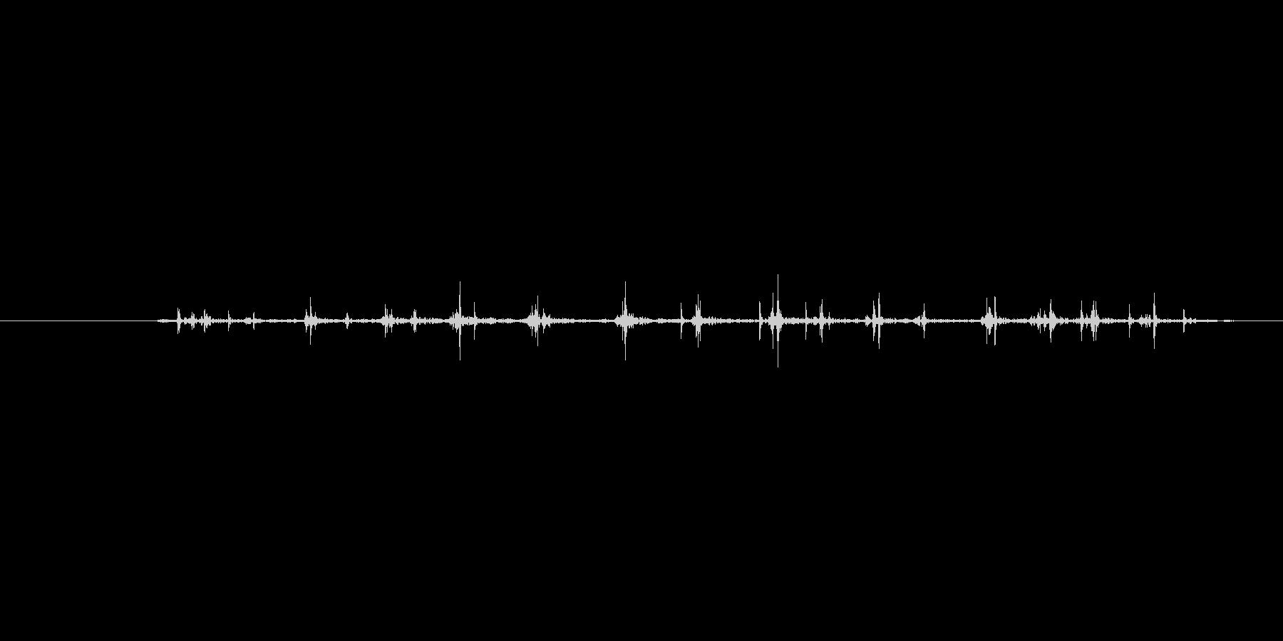 ぎゅっの未再生の波形