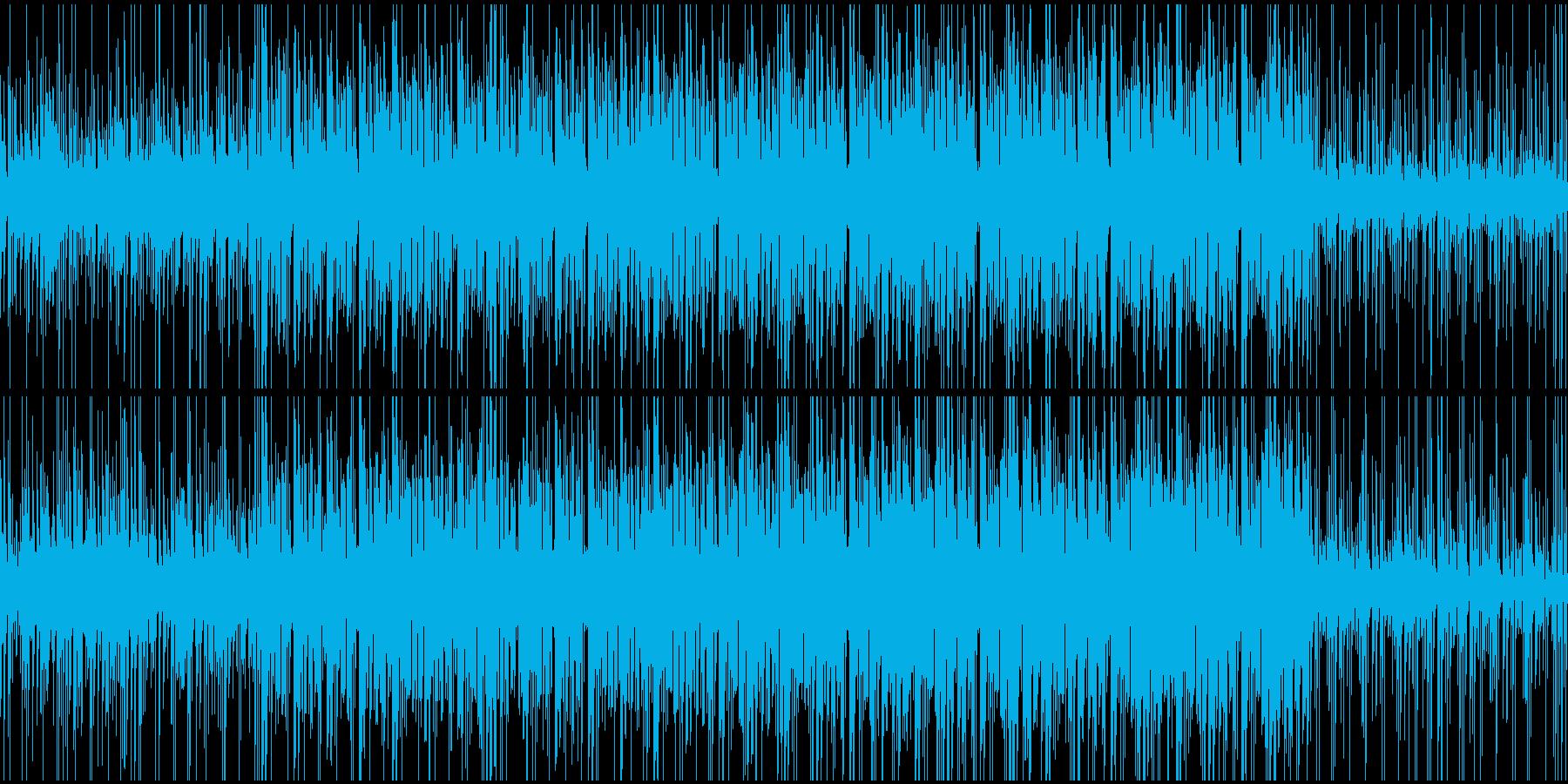 オープニング、トーク用BGM(ループ)の再生済みの波形