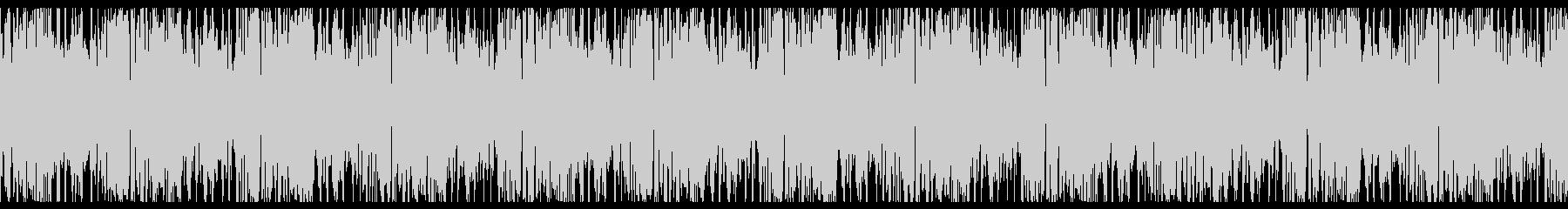 ハードなかっこいいEDM系の未再生の波形