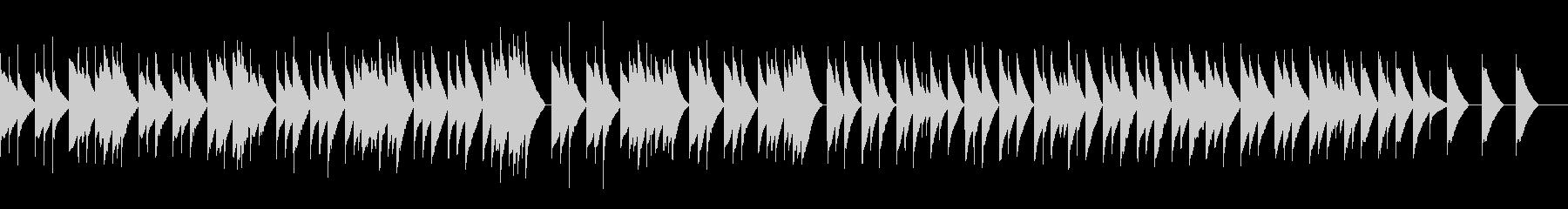 2. オーセの死 (オルゴール)の未再生の波形