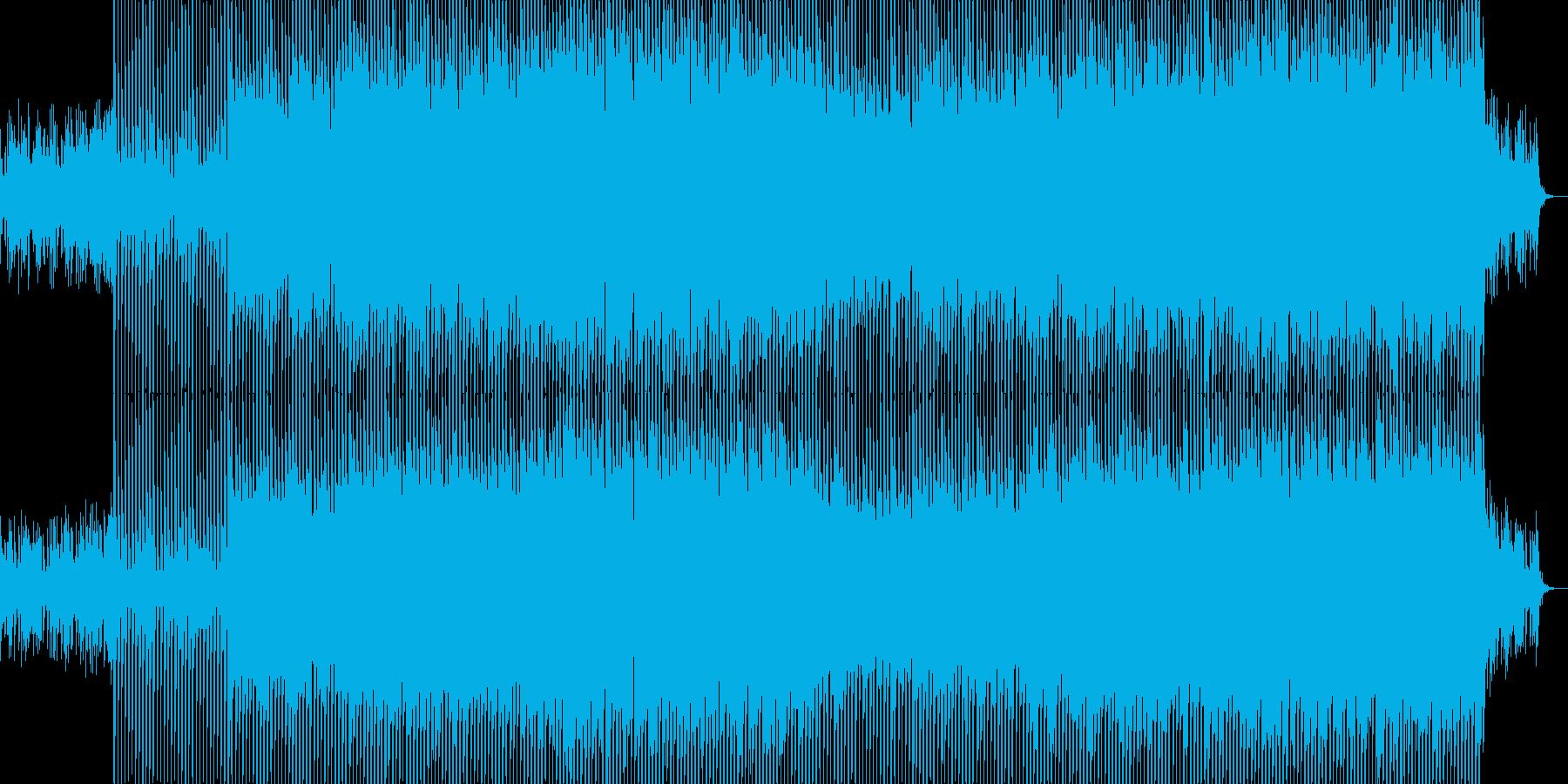 EDMクラブ系ダンスミュージック-49の再生済みの波形