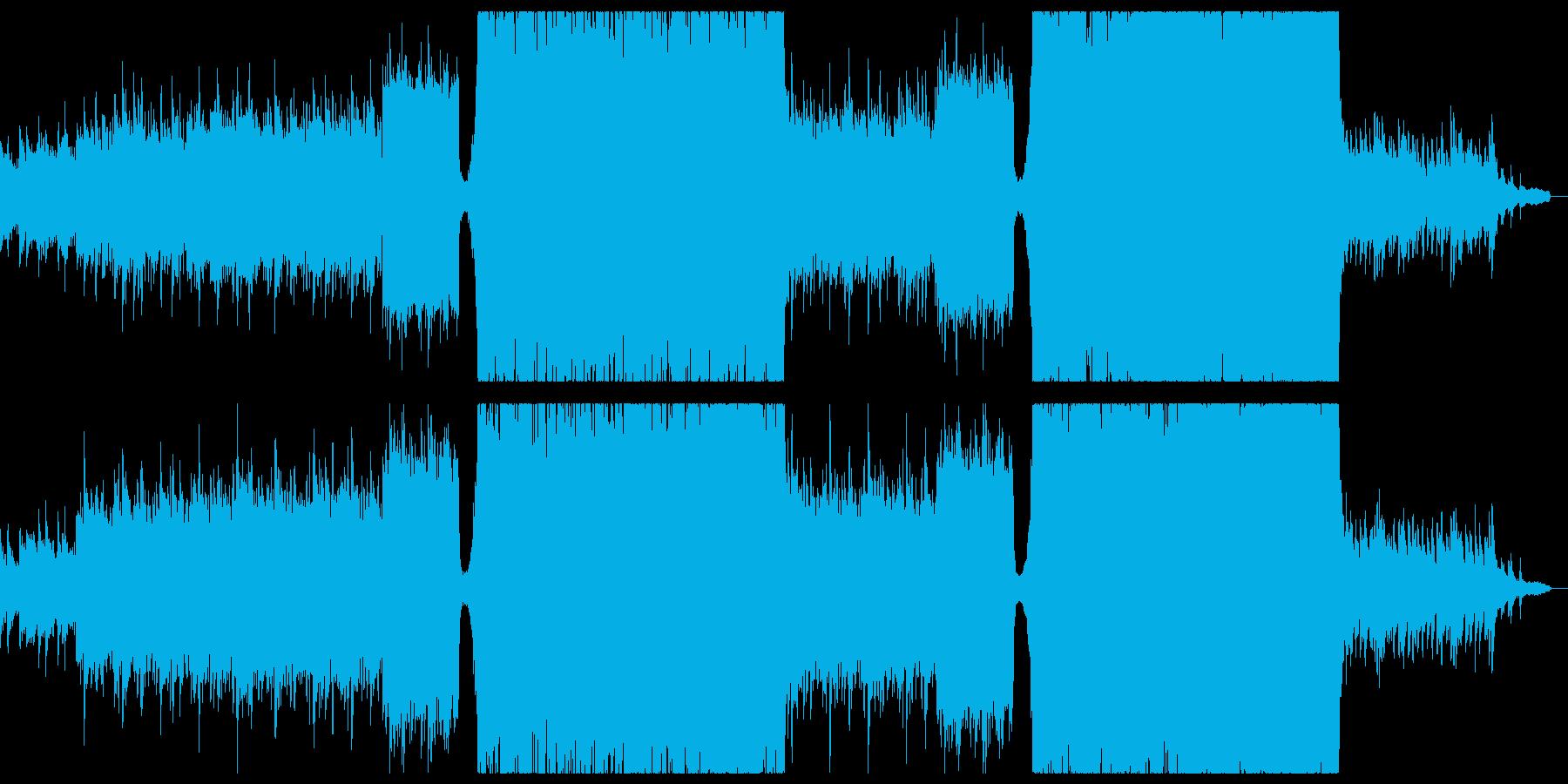 懐かしく感動的なシネマティックチル。の再生済みの波形