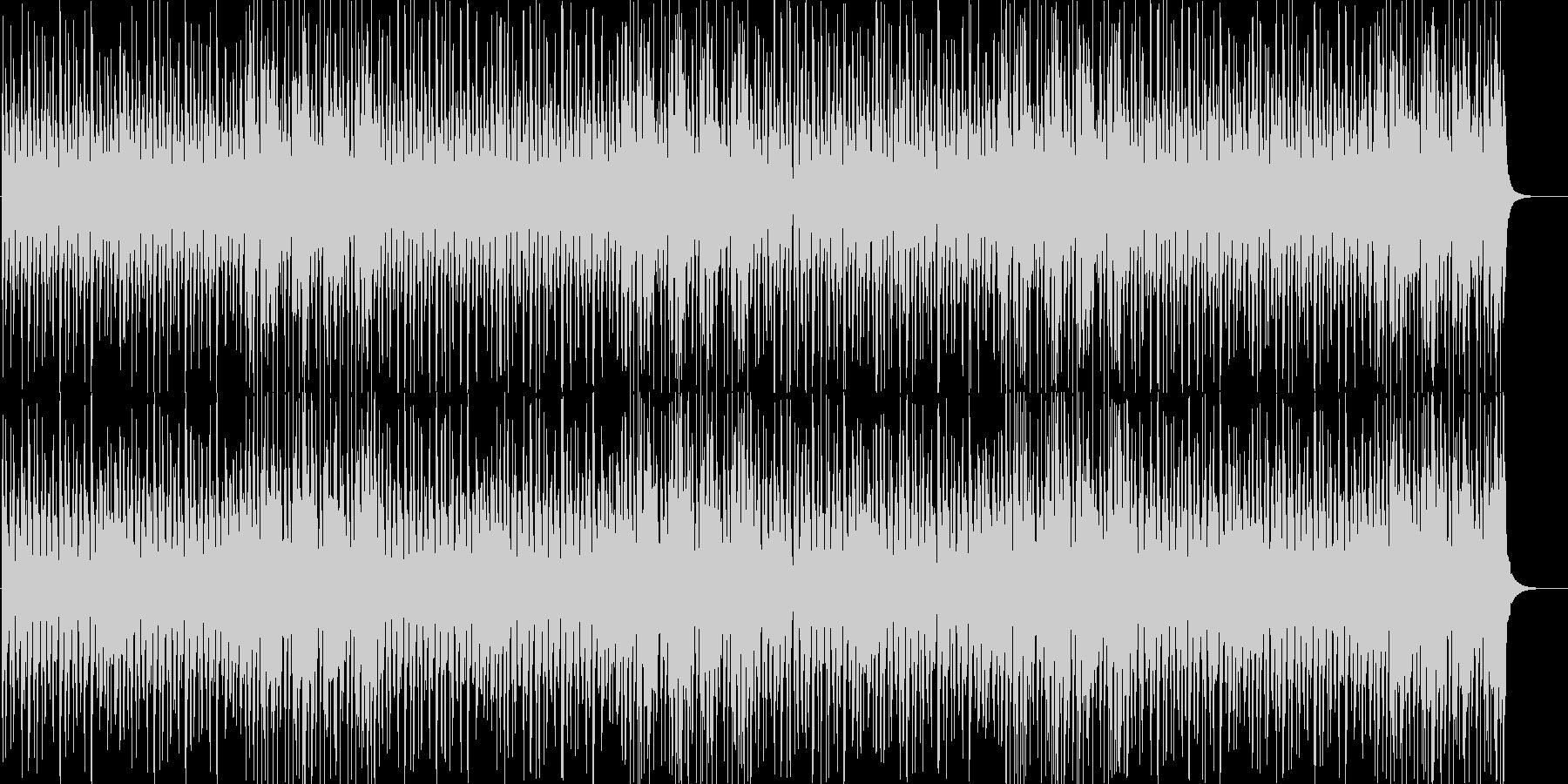 大人でジャジーで軽快なリズムのBGMの未再生の波形