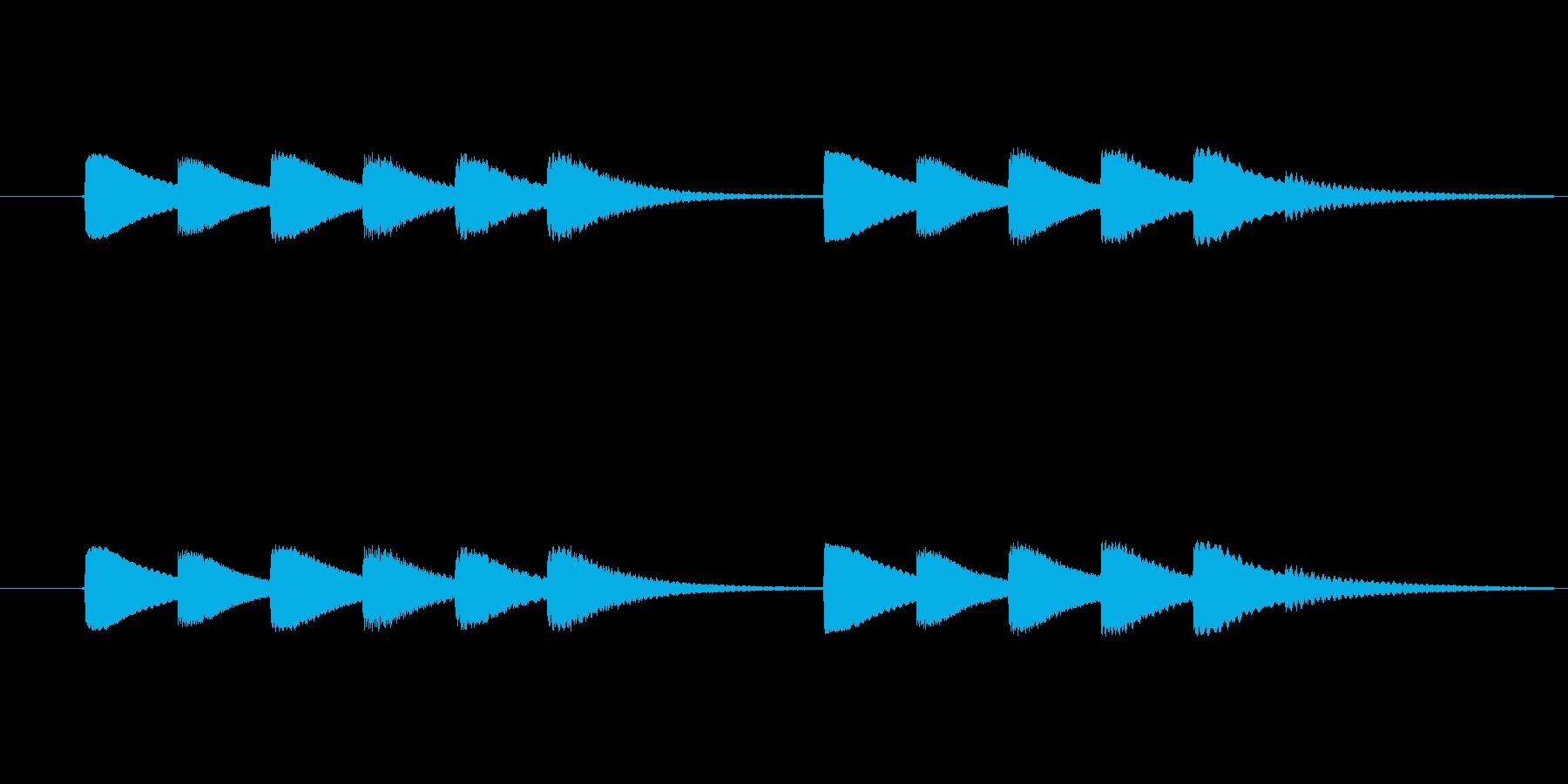 vibraphone と celest…の再生済みの波形