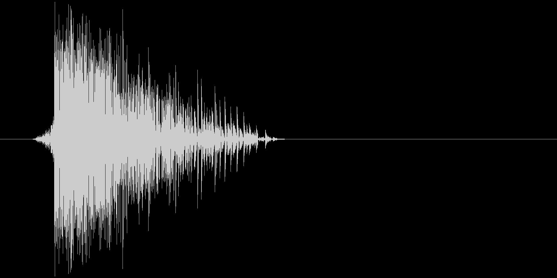 ゲーム(ファミコン風)ヒット音_039の未再生の波形