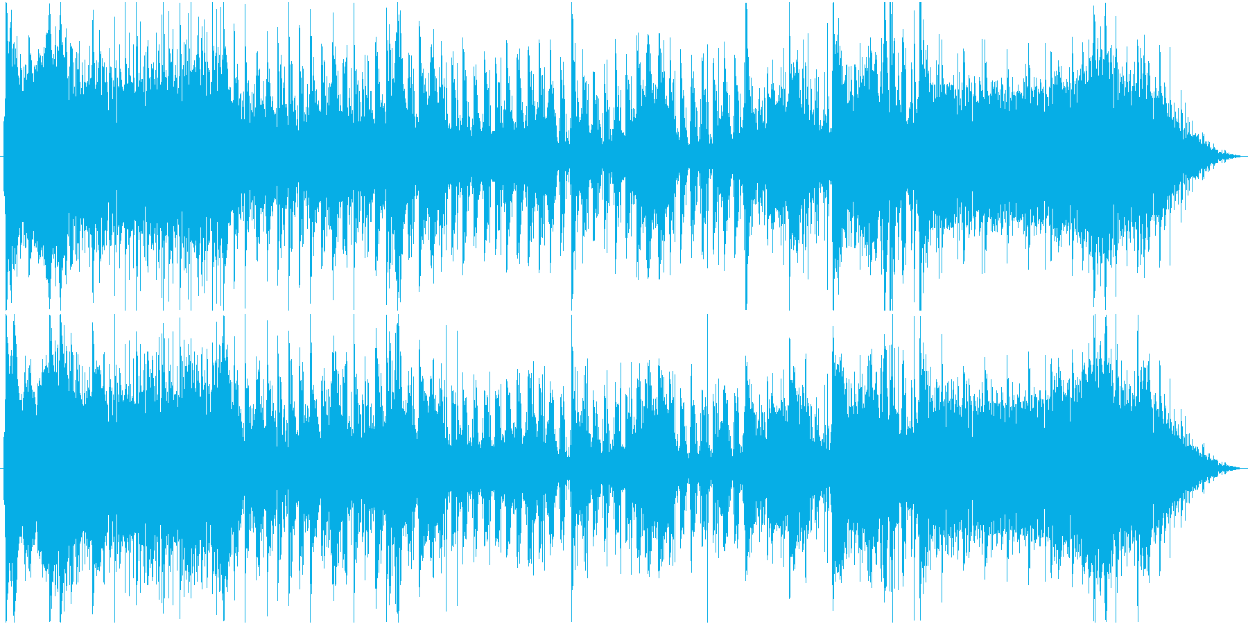 ややテンション抑えめのバトル曲。の再生済みの波形