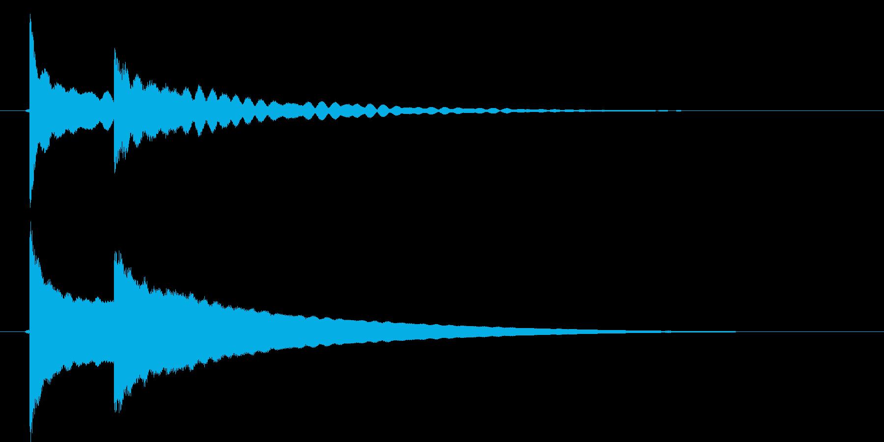 チピーン!の再生済みの波形