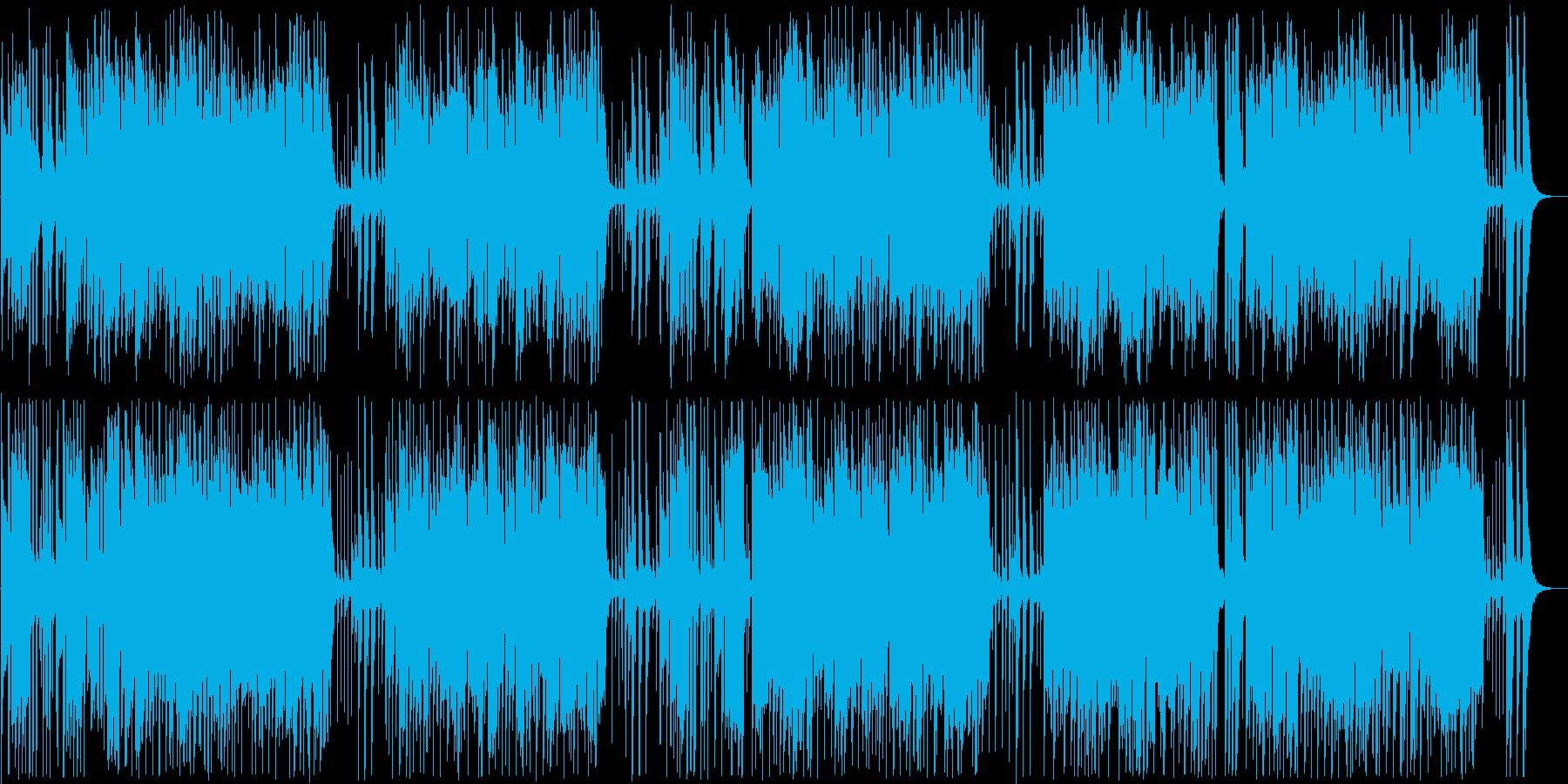 常夏のインフォメーションミュージックの再生済みの波形