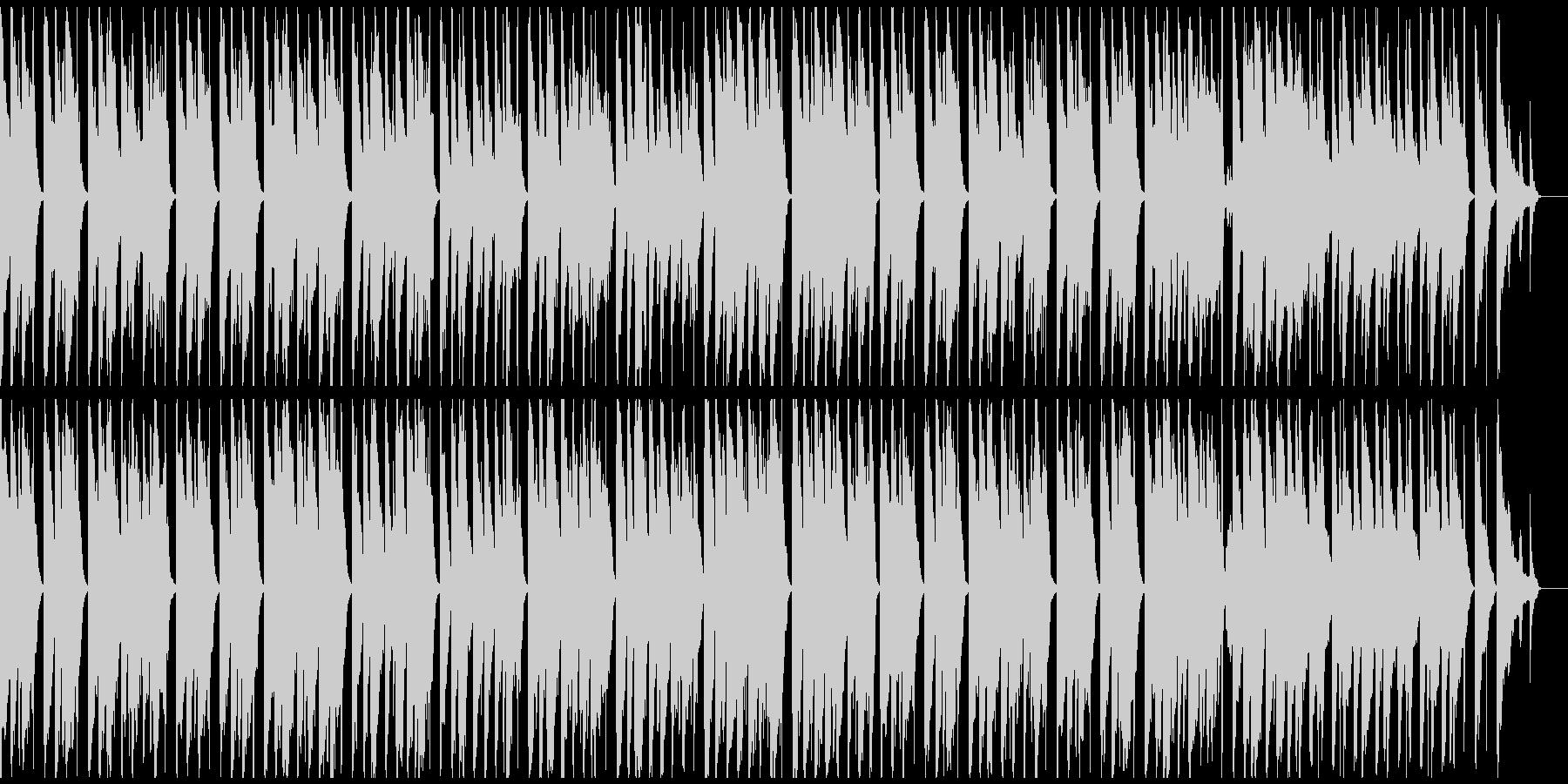 ワーグナー結婚行進曲 ウクレレでゆったりの未再生の波形