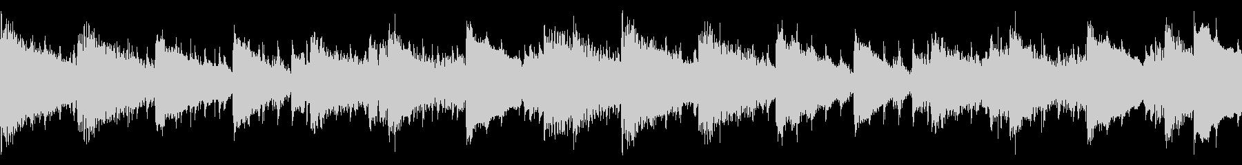 クラップ(拍手)を基調とし、変奏させた…の未再生の波形