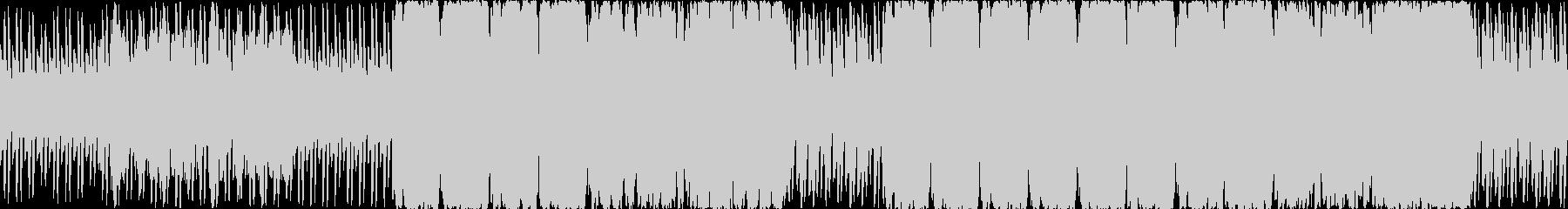 オーケストラ調の朝方の雰囲気の曲の未再生の波形