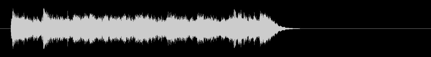 ワルツなセミクラ風ポップ(サビ)の未再生の波形