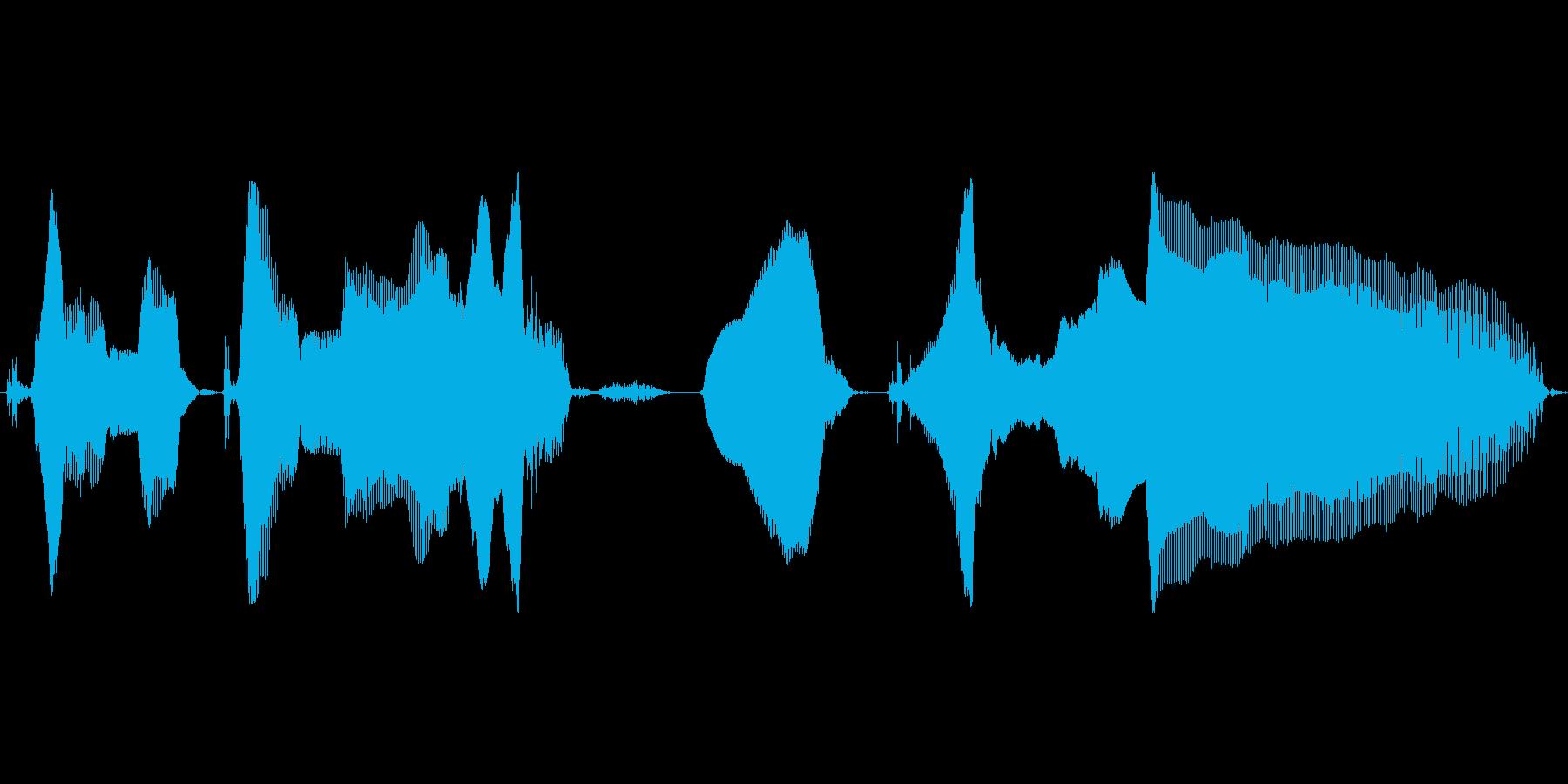 このこの~、にくいねっの再生済みの波形