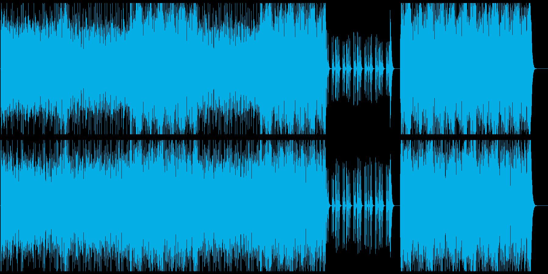 ヒップホップ/オーケストラ/マフィアの再生済みの波形