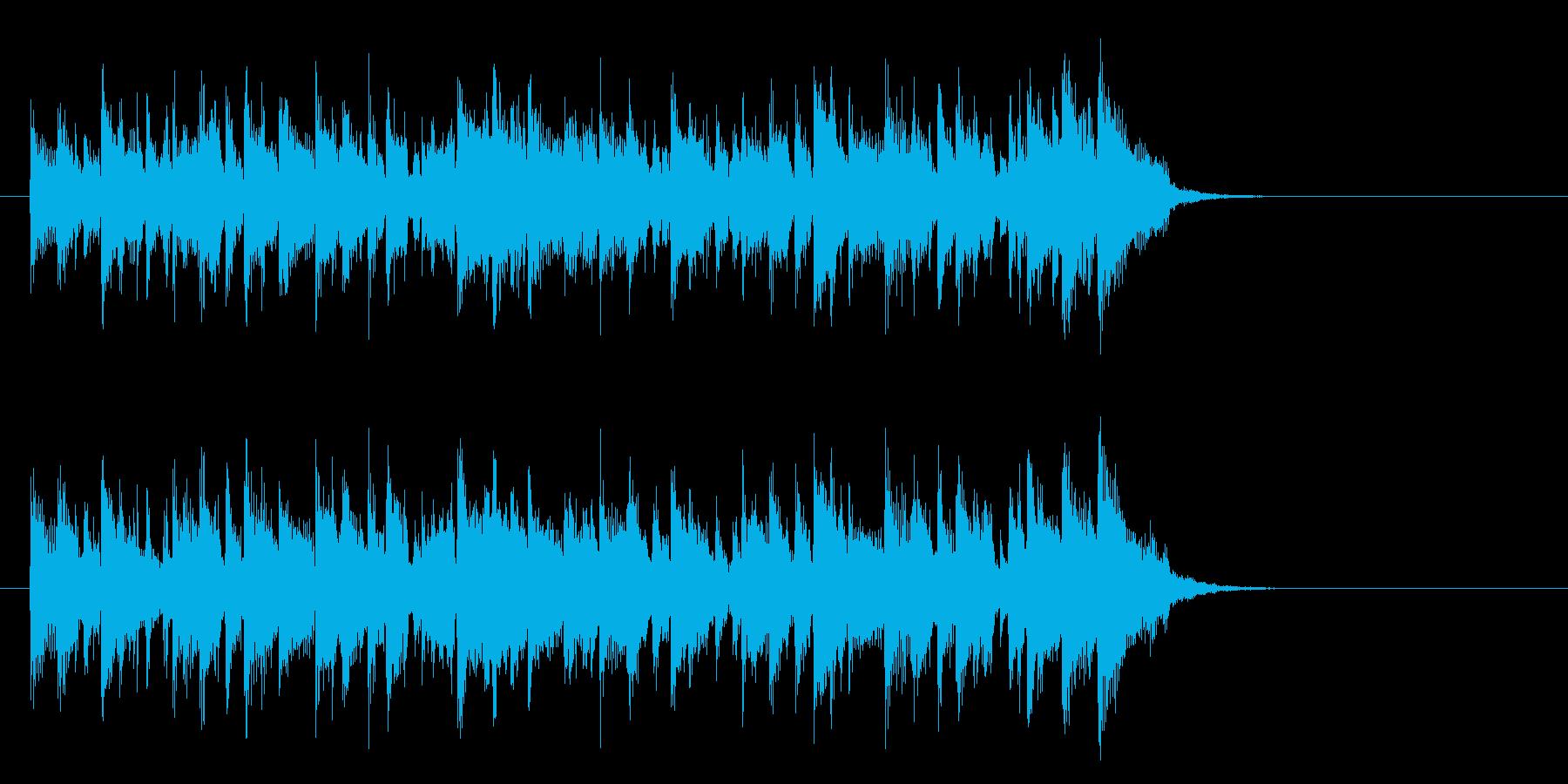 メロウなフュージョン(イントロ)の再生済みの波形