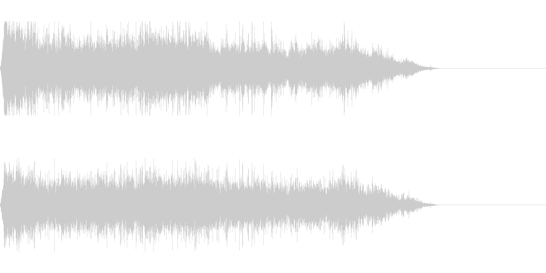 スクラップ 廃材 現場(環境音)の未再生の波形