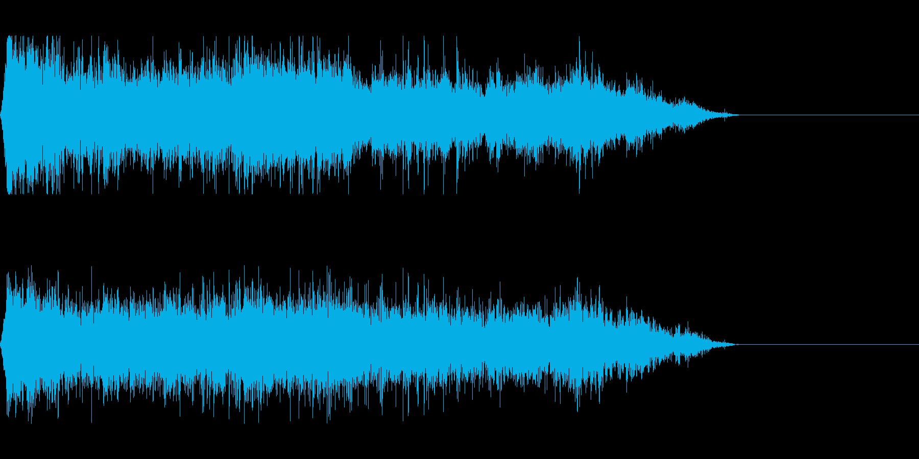 スクラップ 廃材 現場(環境音)の再生済みの波形