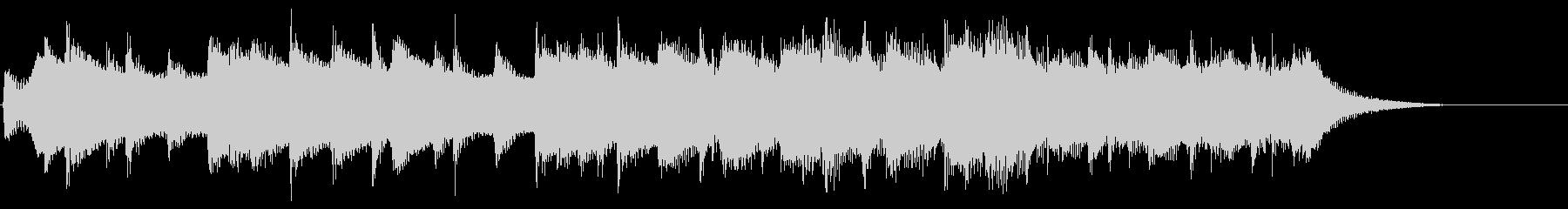 8bitジングル チップチューン場面転換の未再生の波形