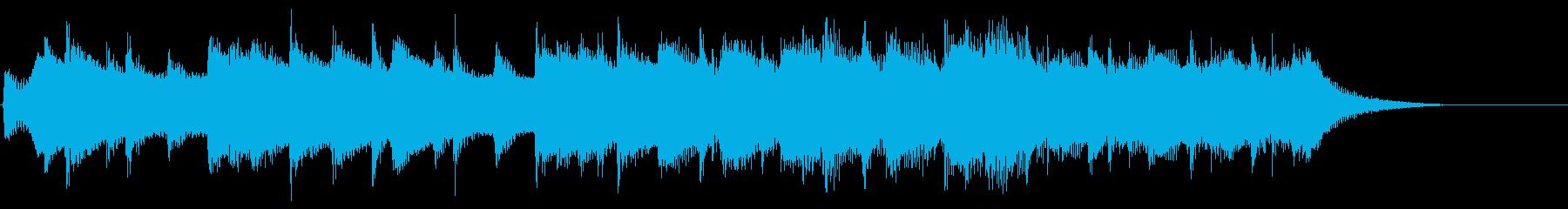8bitジングル チップチューン場面転換の再生済みの波形